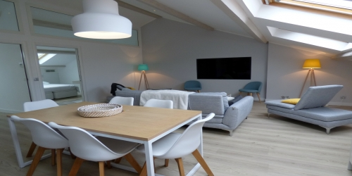 Spacious and Newly renovated 3 bedrooms, 6mn from Palais des Festivals