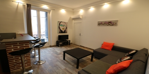Charming 1 bedroom with balcony 5 min to the Palais