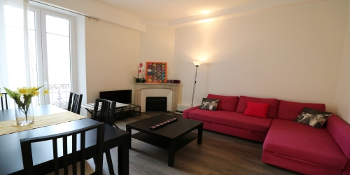 Bright and modern 2 bedroom, 5 min from Palais