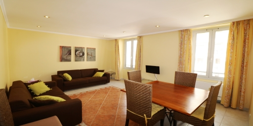 Spacious and comfortable 2 bedrooms 6 min from Palais