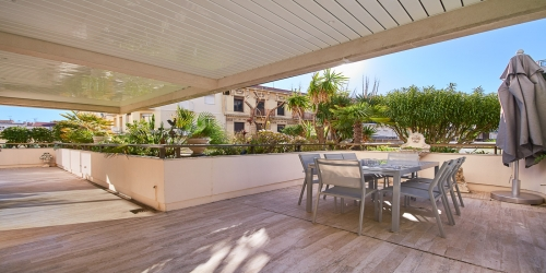 Luxury 3 bedrooms with terrace in Gray d'Albion, 2 min walk from Palais des Festivals