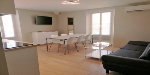 Newly reffited 3 bedrooms 3 min from Palais