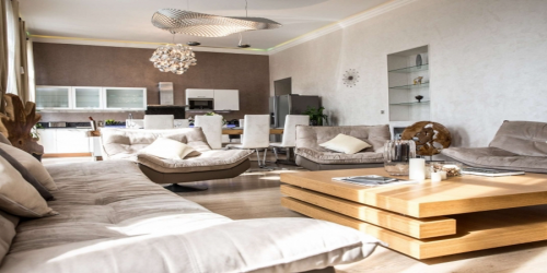 Luxurious 5 Bedroom apartment with large private terrace, 8mn from Palais des Festivals