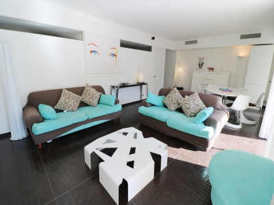 CLASSY SPACIOUS TERRACE 3 BEDROOMS 9 mn from Palais des Festivals